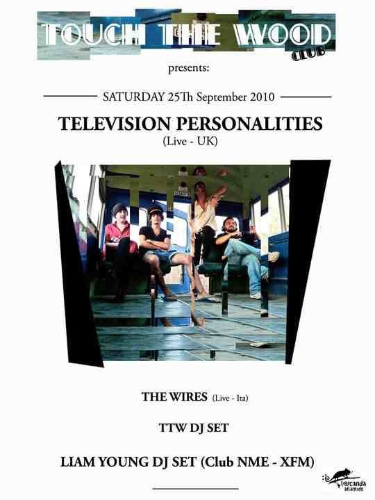 Television Personalities at the Touch Wood club in Rome