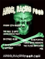 Angel Racing Food Bull & Gate gig flyer