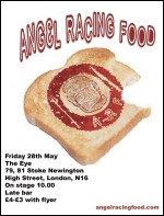 Angel Racing Food Stoke Newington Eye