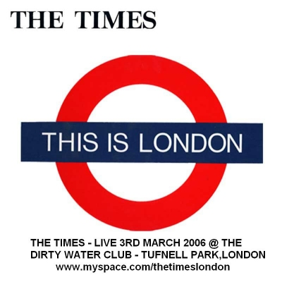 The Times, Dirty Water Club flyer